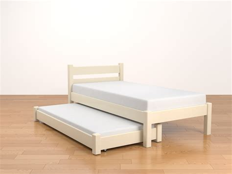 trumble bed trundle bed roll out second bed wooden bed taurus beds