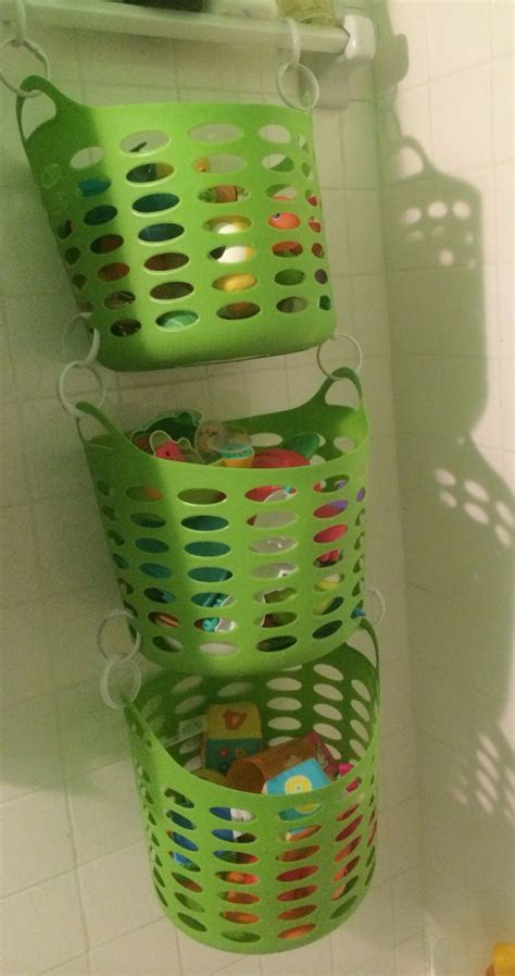 bathroom toy storage bath toy storage organization pinterest dollar