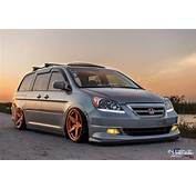 Stanced Honda Odyssey &187 CarTuning  Best Car Tuning Photos