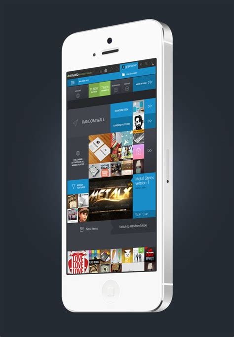 popular mobile app redesign concepts web graphic