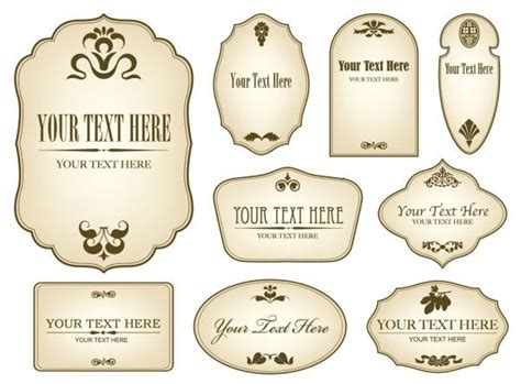 Free Bottle Label Templates by Label Templates For Bottles Printable Label Templates