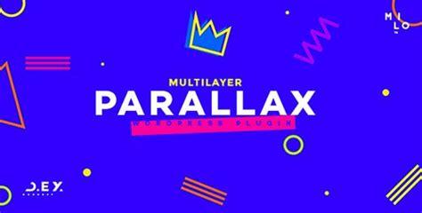 d ex v1 2 1 multilayer parallax wordpress plugin