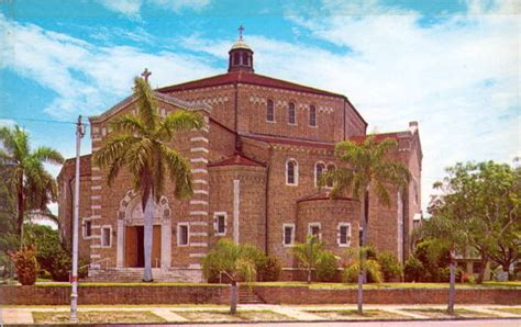 St Petersburg Fl Records Florida Memory St S Catholic Church Petersburg Florida