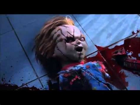 seed of chucky bathroom scene seed of chucky chucky s death scene youtube