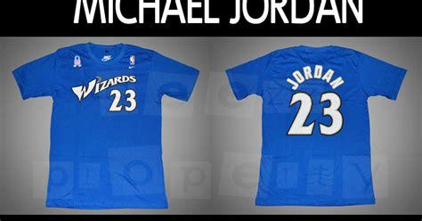 T Shirt Kaos Brio Keren Terlaris kaos keren kaos basket kaos sports michael washington wizards 23 t shirt with 9 11