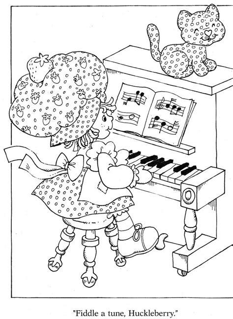 strawberry shortcake coloring book 32 best strawberry shortcake images on