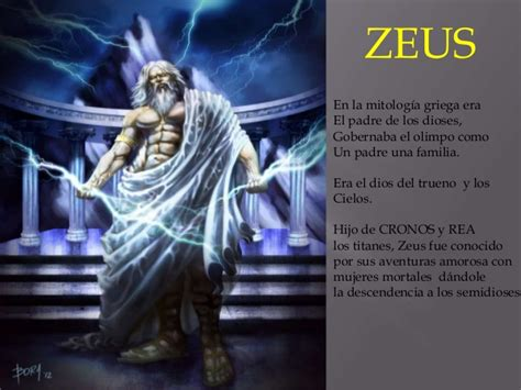 imagenes de la familia de zeus javier b mitologia griega