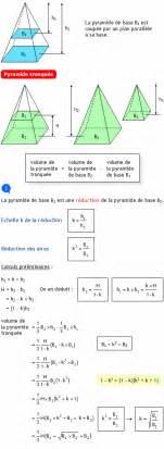 calculer le volume d une pyramide tronqu 233 e