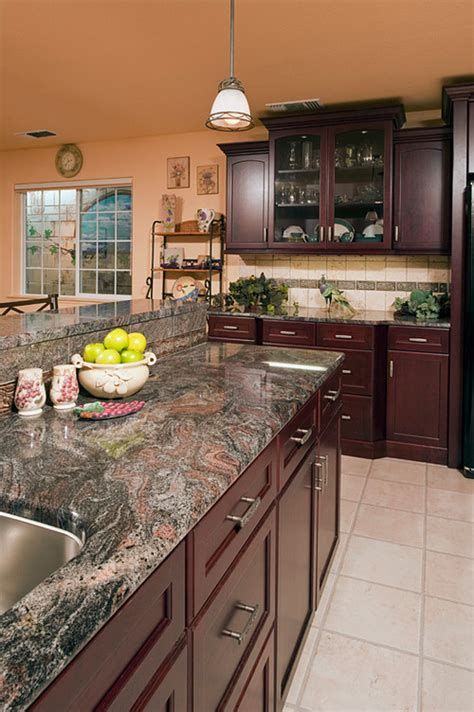 Take It For Granite: Granite Colors With Romantic Hints Of