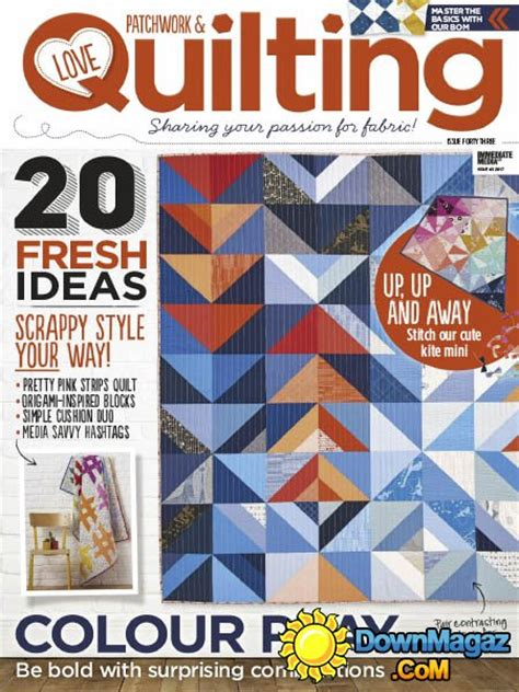 patchwork quilting issue 43 2017 187 pdf