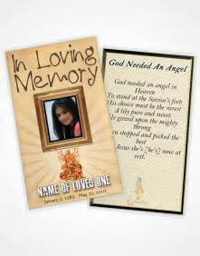 Funeral Cards Templates by Funeralparlour Funeral Program Template Obituary