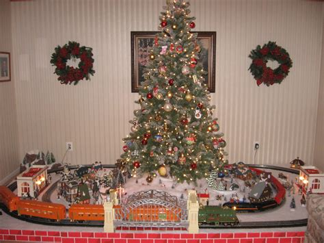 are you going to have trains running under the tree this