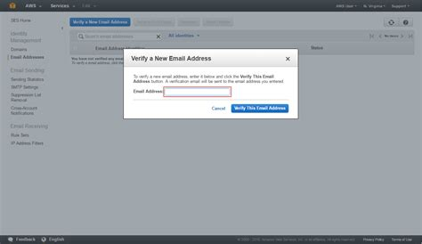 email website how to send an email amazon web services aws