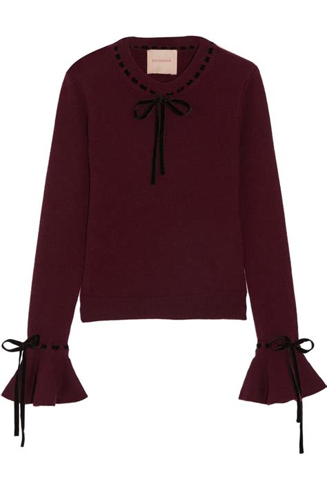 Bell Sleeve Wool Blend Knit Top 12 best saved by the bell sleeve images on
