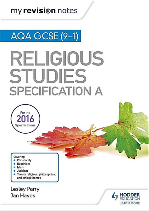 aqa gcse 9 1 religious hodder education my revision notes aqa gcse 9 1 religious