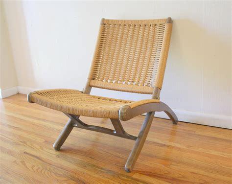 stuhl geflochten mid century modern hans wegner style lounge chair picked