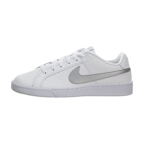Original Nike Court Royale original designed nike court royale lifestyle shoes womens white metallic silver 349 34598