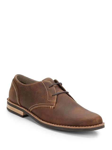 penguin oxford shoes original penguin waylon leather oxfords in brown for