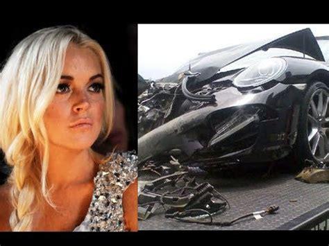 Lindsay Lohan And Coked Up During Crash by Lindsay Lohan Hospitalised After Car Crash