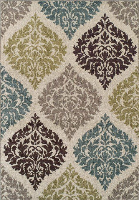 teal and brown area rugs