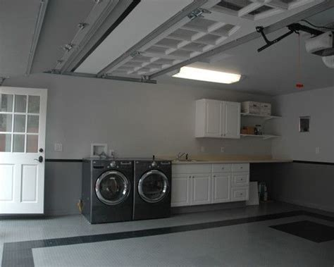 Laundry Room In Garage Decorating Ideas Laundry Room In Garage Design Pictures Remodel Decor And Ideas House Finds