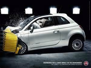 Fiat Advertising Fiat Endangered Animals Crash Test Environment The