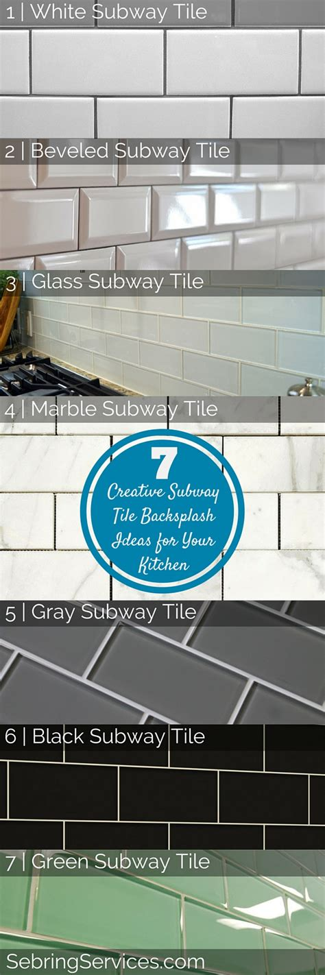 creative backsplash ideas for kitchens 7 creative subway tile backsplash ideas for your kitchen