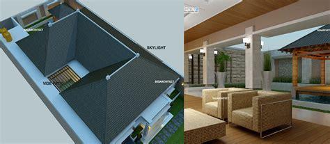 desain rumah villa tropis desain villa bali 1 lantai i teras rumah taman kolam