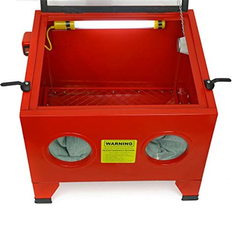 bench top sandblast cabinet 25 gal bench top sand blaster air sandblast cabinet