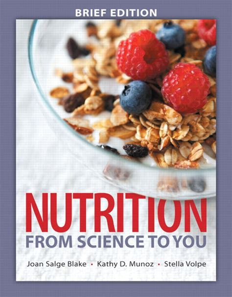 nutrition from science to you 4th edition books pearson education mastering nutrition with pearson etext