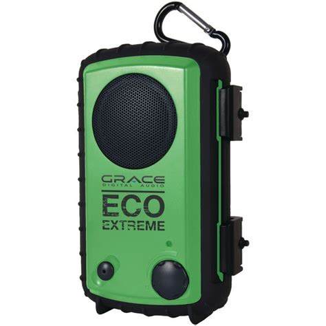 digital rugged grace digital audio gdi aqcse103 eco ipod 174 iphone 174 rugged waterproof with built in