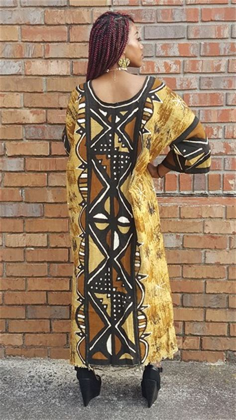 african clothing dress red and gold mud cloth gold black brown mud cloth dress dp3796 dp3796 african
