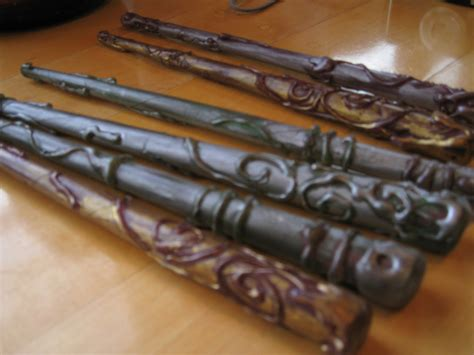 How To Make Harry Potter Wands Out Of Paper - yourlifeuncommon harry potter wand tutorial