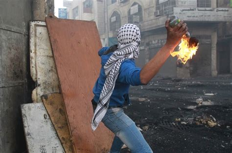 throwing a cocktail obama state department palestinians who throw molotov