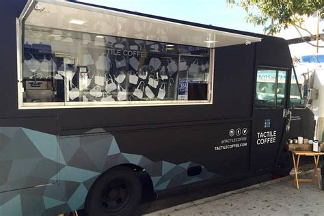 food truck boston design center tactile coffee is downtown s fantastic new mobile espresso