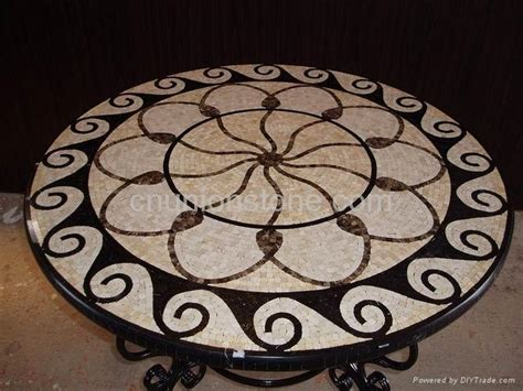 tile pattern round mosaic series mosaic table top union stone china