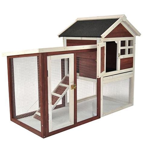house improvements improvements the stilt house rabbit hutch 7231966 hsn