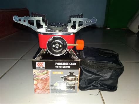 Cooking Set Ds 200 jual beli sale paket kompor portable cooking set ds 200 baru perabotan dapur murah