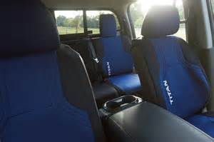 Nissan Titan Seat Covers Nissan Titan Xd Accessories Shown At Show
