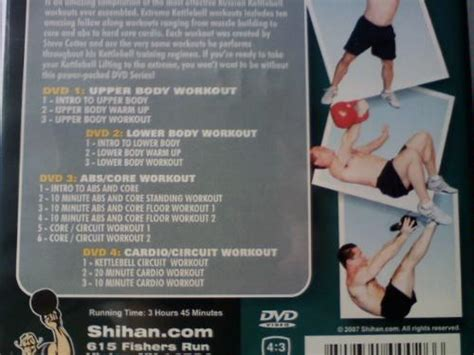 at home kettlebell workout dvd workouts building