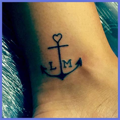 tattoos for my kids anchor for my my children keep me grounded
