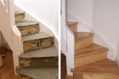 holztreppe aufarbeiten treppenrenovierung und treppensanierung in wiesbaden