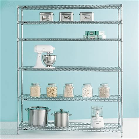 Commercial Shelf by Metro Commercial Pantry Shelves The Container Store