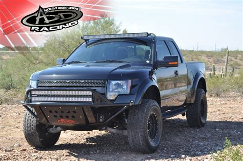 ford raptor roof light bar ford raptor 50 quot e series roof mounted light bar by add