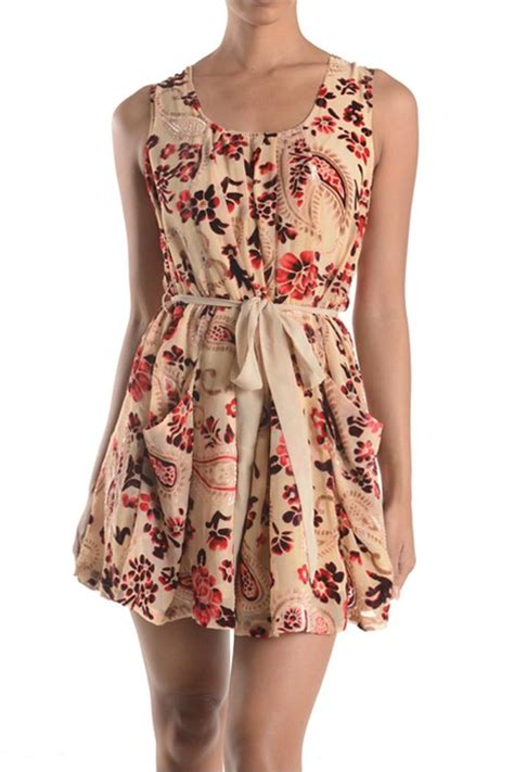 sweet sinammon vintage floral dress from nashville by the