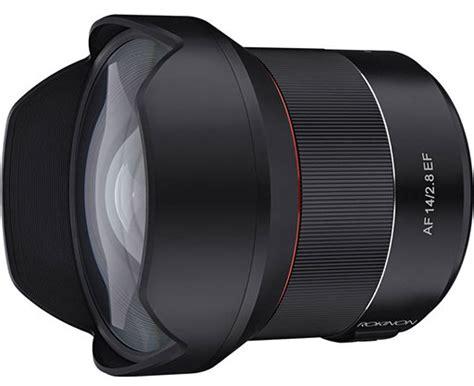 Samyang 14mm F 2 8 Lens For Canon samyang af 14mm f 2 8 lens for canon ef canon frame