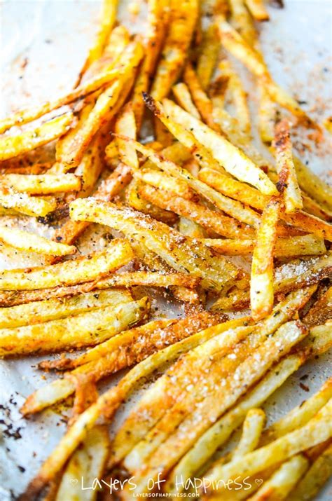 extra crispy oven baked french fries recipes for