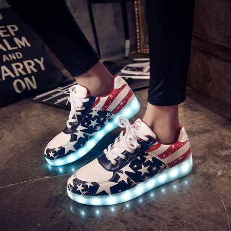 imagenes de zapatos adidas yeezy 2016 led casual shoes woman fashion led shoes for adults