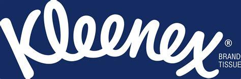 blue logo kleenex logos