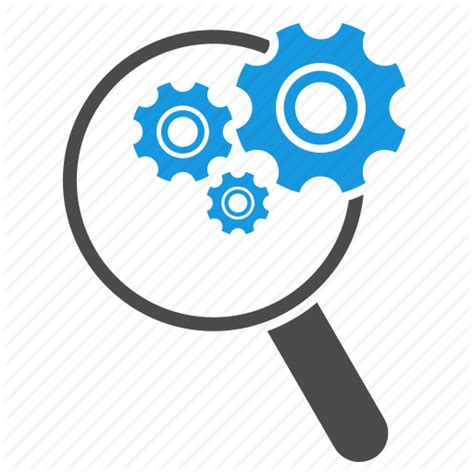 Search Tool Configuration Find Gears Magnifying Glass Search Search Engine Search